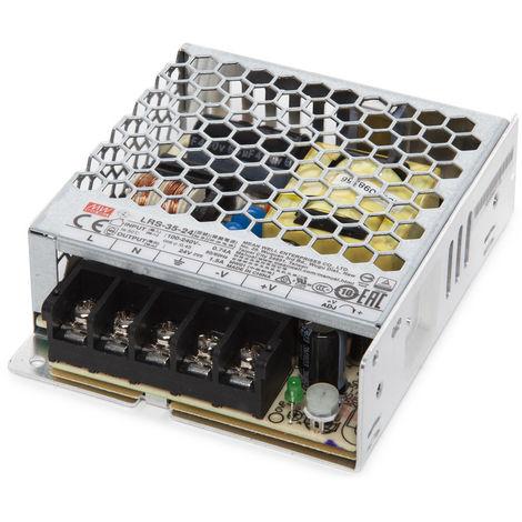 Transformador LED Meanwell 35W 230VAC/24VDC IP20 (OL-LRS-35-24)
