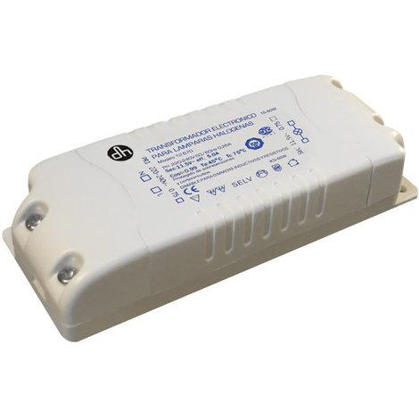 Transformador para alimentación de bombillas halógenas de 5 A Electro Dh 12.670 8430552066223