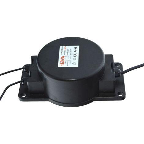 Transformateur 12V étanche CA 160W IP67