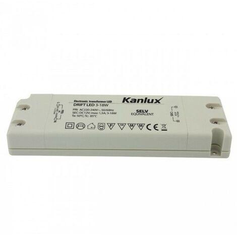 220v 12v 18w Pour Led Transformateur Intérieur lKFTJ1c3