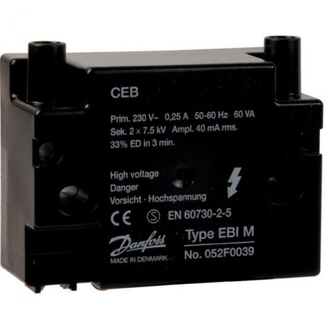 Transformateur brûleurs fioul Cuenod NC4 - Cuenod