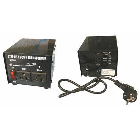 TRANSFORMATEUR CONVERTISSEUR DE TENSION 300W 220V -110V REVERSIBLE 110V 220V