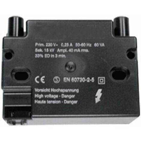 Transformateur d\'allumage EBIM 052F0034 Pour G 40S, DE DIETRICH, Ref. 300022191