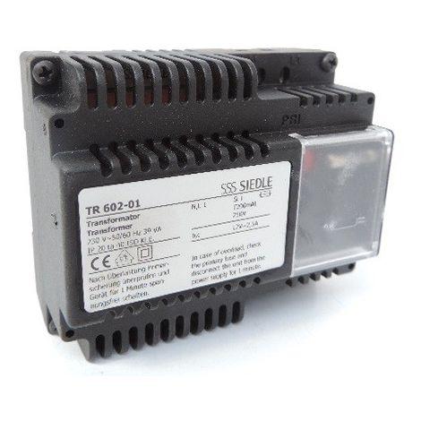 Transformateur de courant modulaire entrée 230V AC 50/60Hz sortie 12V 2.5A pour interphone SIEDLE ET SOHNE TR602-01