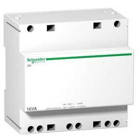 Transformateur de sécurité - 16 VA - Acti9 - 230 VCA vers 12-24 VCA