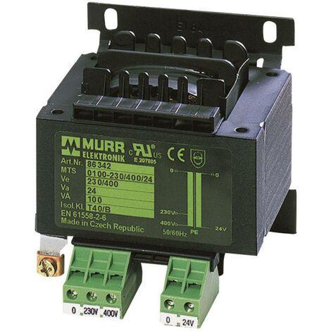 Transformateur de s/écurit/é puissance 60 VA primaire 230 V//AC secondaire 24 V//AC elma TT IZ 1221