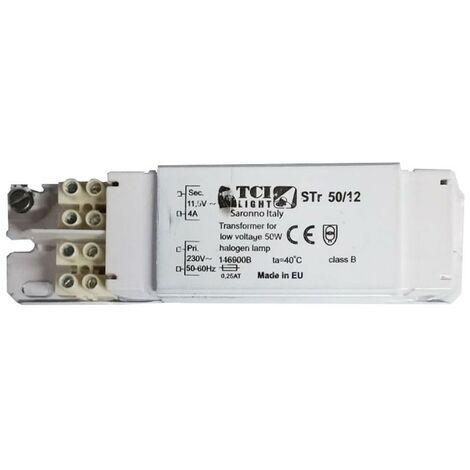 Transformateur de TCI feuilleté électromécanique 50 W 230/12V 146900B