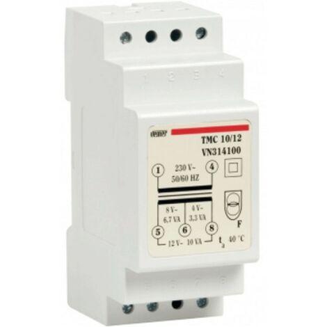 Transformateur modulaire Vemer TMC 10VA 230/4/8/12V 2 Modules VN314100