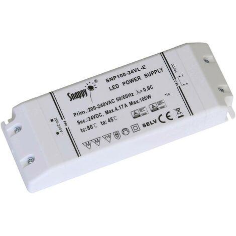 Transformateur pour LED à tension constante Dehner Elektronik LED 24V100W-MM-VL (SE100-24VL) LED 24V100W-MM-VL (SE100-2