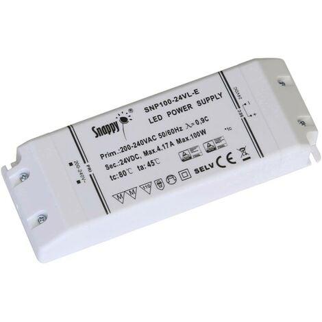 Transformateur pour LED à tension constante Dehner Elektronik Snappy SNP100-12VL-E Snappy SNP100-12VL-E 100 W 0 - 8.33