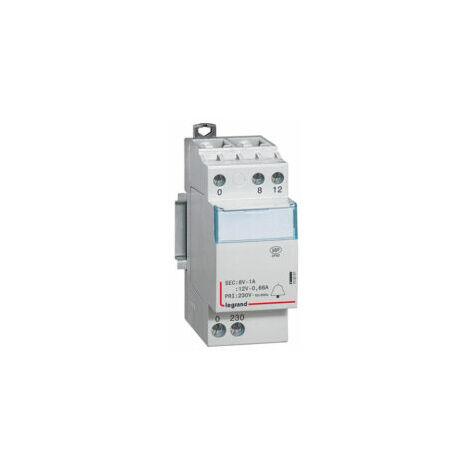 """main image of """"Transformateur pour sonnerie 230V vers 12 ou 18V - 413091- Legrand"""""""