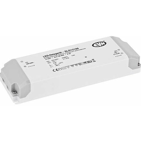 Transformateur SLD12100 12V/DC, 32,4-100W electroniquement dimmable