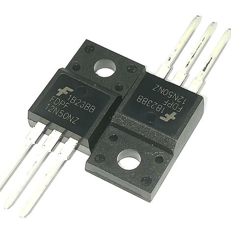 Transistor N-MosFet 500V 12A TO220FP FDPF12N50NZ