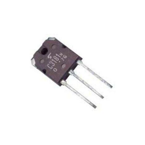 Transistor Npn 120v 8a 80w 2sc3181 2sc3181