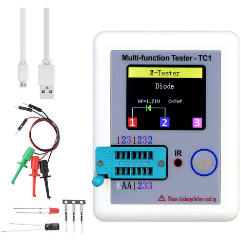 Transistor Tester Colorful Display