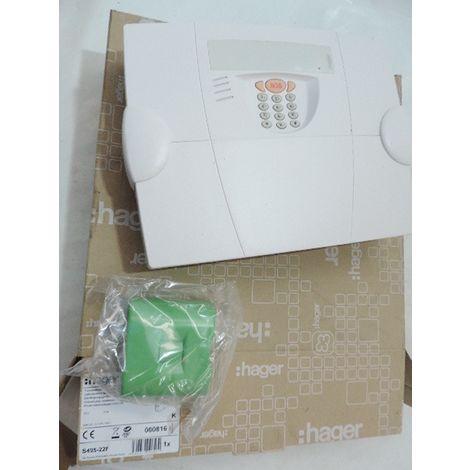 Transmetteur communicateur radio d'alarme via réseau téléphonique RTC série LS (LOGISTY) HAGER S495-22F