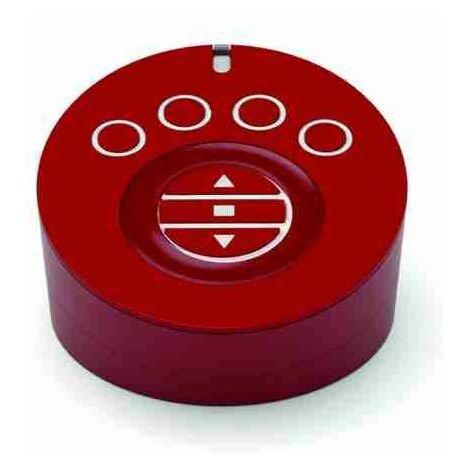 Transmetteur portable NICE AGIO pour la commande des rideaux, stores, éclairages, charges électriques AG4R avec socle de recharge