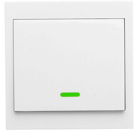 Transmetteur Sans Fil A Distance Rf Post-It Smartswitch Intelligente Pour La Chambre Home Living Chambre 433Mhz 86 Panneau Mural Commutateurs, 1 Channel