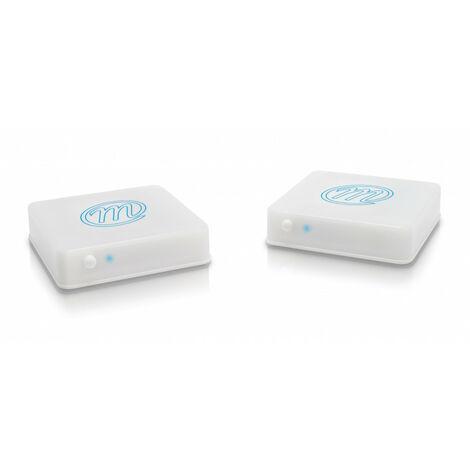 Transmetteur vidéo images et sons - 1 source - blanc