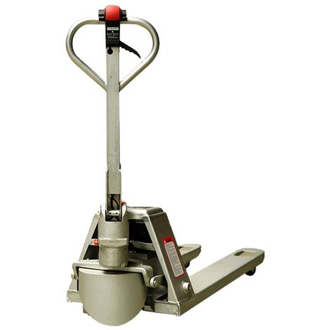 Transpaleta Semi-Eléctrica Inox 1500kg