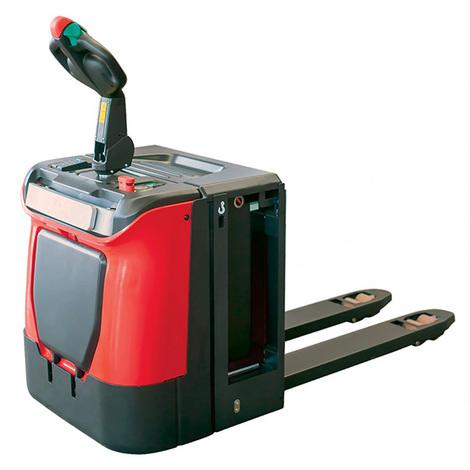 Transpalette électrique 2000 à 2500kg autoporté (plusieurs tailles disponibles)