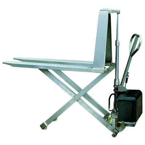 Transpalette électrique haute levée inox (plusieurs tailles disponibles)