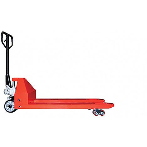 Transpalette manuel pour charges lourdes et longues - 3.5 tonnes (plusieurs tailles disponibles)