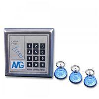 Transponderschaltsystem TS-01 Betrieb ohne Alarmzentrale (Türöffner)