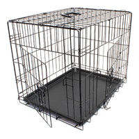 Transport cage dog kennel Wire cage Transport box foldable S