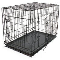 Transport cage dog kennel Wire cage Transport box foldable XL