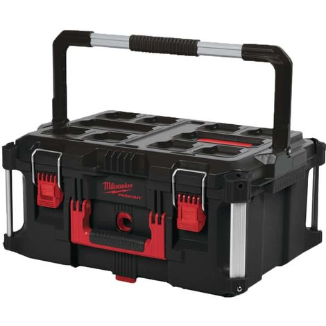 Transport case 62L MILWAUKEE PACKOUT- size 3 - 460x410x290 - 4932464079
