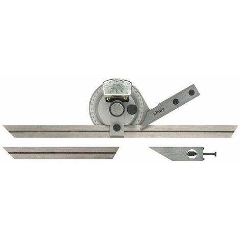 Transportador de ángulos de precisión, Longitud de reglas 150 y 300mm LIMIT