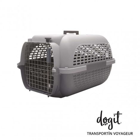 Transportín DOGIT Pet Voyaguer Carrier Tamaño L - Gris /Gris