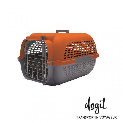Transportín DOGIT Pet Voyaguer Carrier Tamaño M - Naranja /Gris