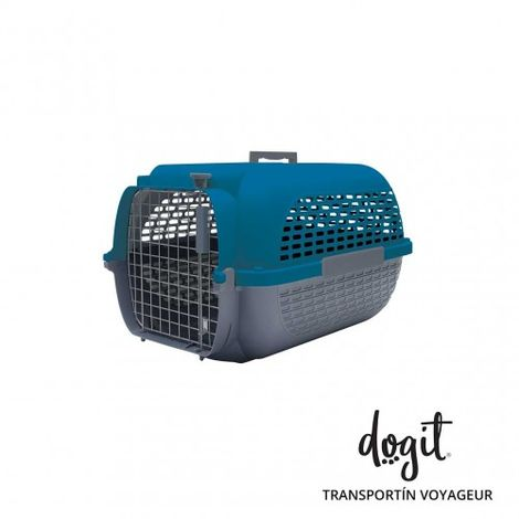 Transportín DOGIT Pet Voyaguer Carrier Tamaño S - Azul /Gris