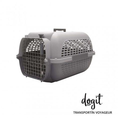 Transportín DOGIT Pet Voyaguer Carrier Tamaño S - Gris /Gris