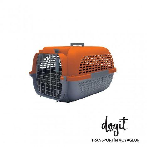 Transportín DOGIT Pet Voyaguer Carrier Tamaño S - Naranja /Gris