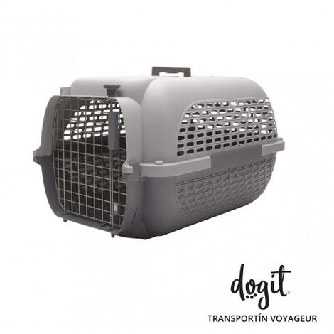 Transportín DOGIT Pet Voyaguer Carrier Tamaño XL - Gris /Gris