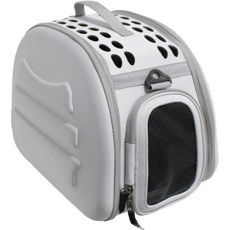 Transportin para perros y gatos plegable y lavable Yatek, recomendado para mascotas de hasta 6kg, disponible en dos colores