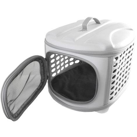 Transportin para perros y gatos plegable Yatek, lavable, recomendado para mascotas de hasta 5kg, dos colores disponibles