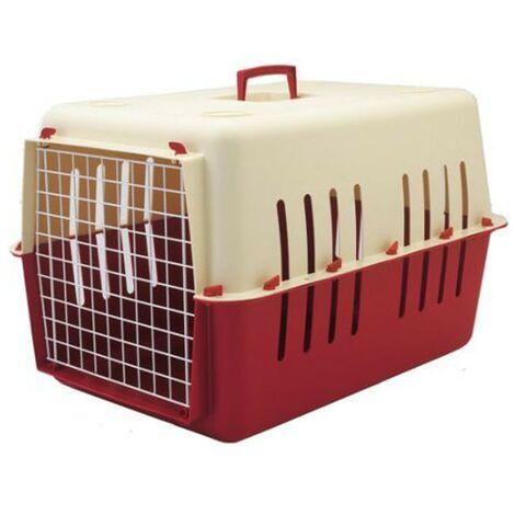 Transportín Pet Carrier tamaño grande para mascotas | Transportín con puerta de metal | Transportín perros y gatos