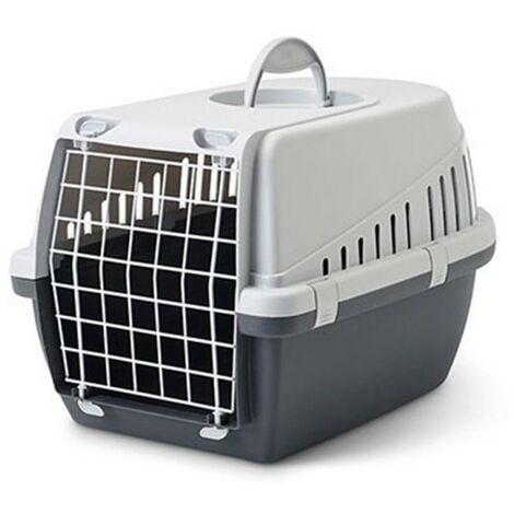 Transportín Trotter para mascotas hasta 5 kg | Transportín con puerta de metal | Transportín perros y gatos