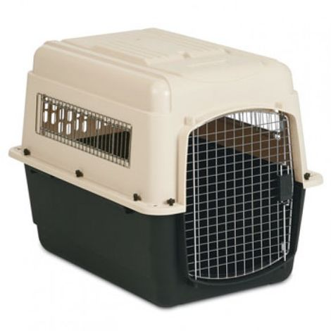 Transportín Trotter para mascotas Transportín con puerta de metal PARA PERROS PARA GATOS Large 91 x 63.5 x 66 cm