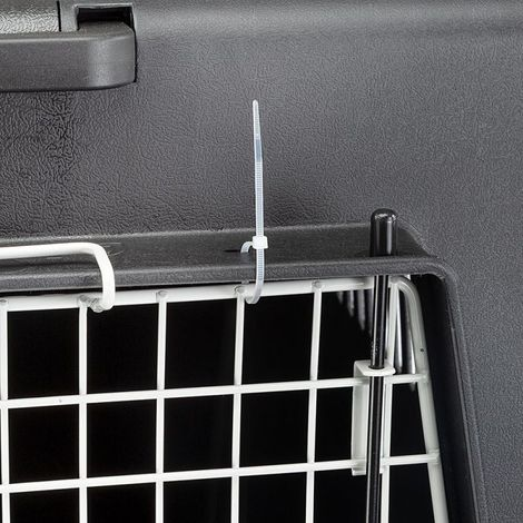 Transportín Trotter para mascotas Transportín con puerta de metal PARA PERROS PARA GATOS MIKONOS