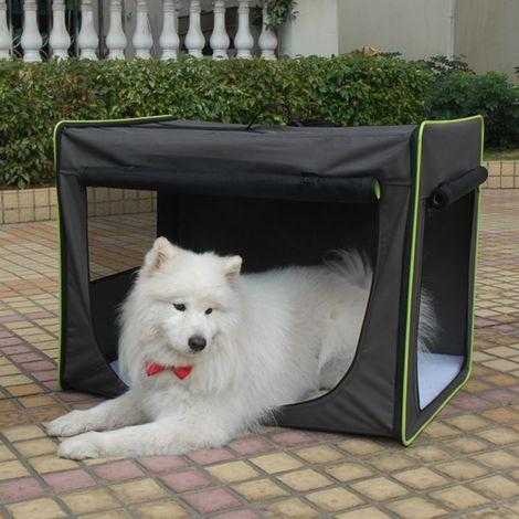 Transportín Trotter para mascotas Transportín con puerta de metal PARA PERROS PARA GATOS PLUTO GRIS