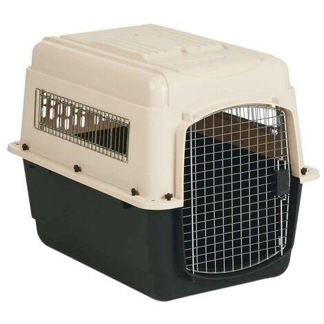 Transportin Vari Kennel tamaño Large para mascotas   Transportin de plastico con puerta metalica   Transportin para avion