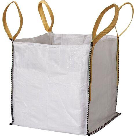 Transportsack Big Bag L.600mm B.600mm H.600mm Trgf.1000kg Aufdruck:o.