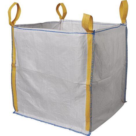 Transportsack Big Bag L.900mm B.900mm H.900mm Trgf.1500kg Aufdruck:o.