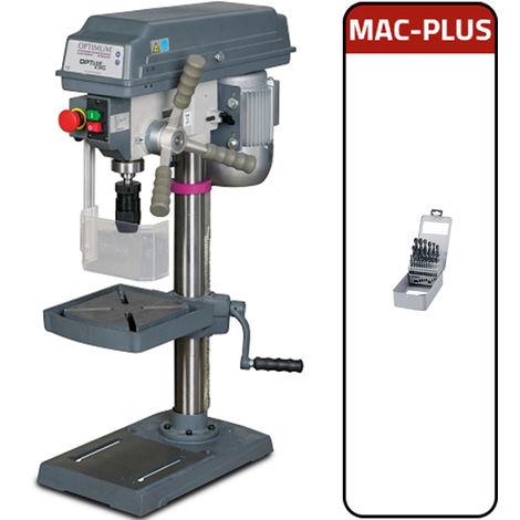 Trapano a colonna da banco Optimum B 17 Pro + MAC - PLUS