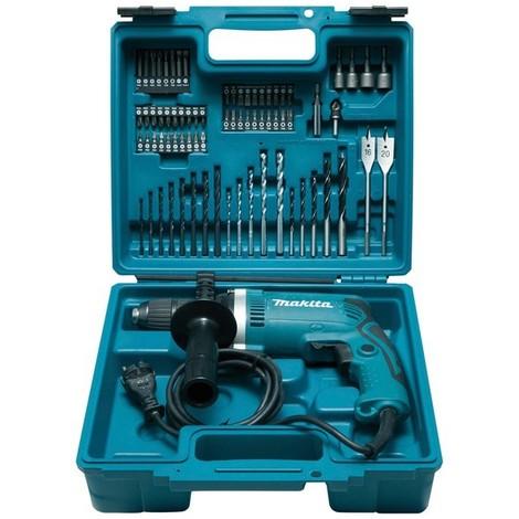 Trapano a percussione MAKITA - 710W + kit accessori - HP1631KX3